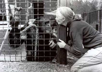 Billy Jo with Dr. Jane Goodall